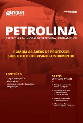 Apostila Concurso Prefeitura de Petrolina 2019 Grátis Cursos Online