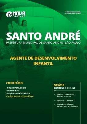 Apostila Prefeitura de Santo André 2020 Grátis Cursos Online