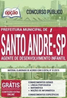 Apostila Concurso Prefeitura de Santo André 2020 PDF e Impressa