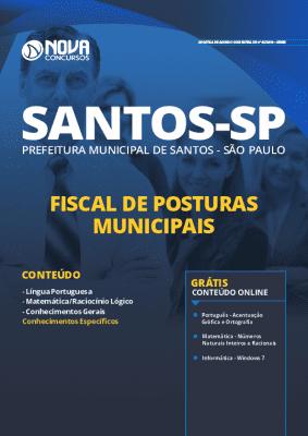 Apostila Concurso Prefeitura de Santos 2019 Grátis Cursos Online