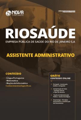 Apostila RIOSAÚDE 2019 Assistente Administrativo Grátis Cursos Online