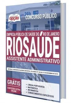 Apostila RIOSAÚDE 2019 Assistente Administrativo PDF Download e Impressa