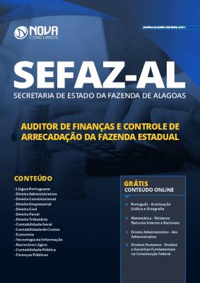 Apostila Concurso SEFAZ AL 2019 Auditor de Finanças Grátis Cursos Online