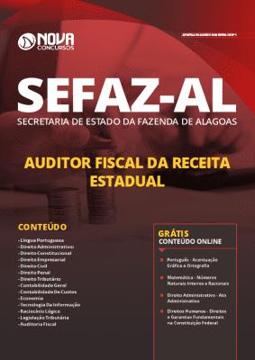 Apostila Concurso SEFAZ AL 2019 Auditor Fiscal da Receita Estadual Grátis Cursos Online