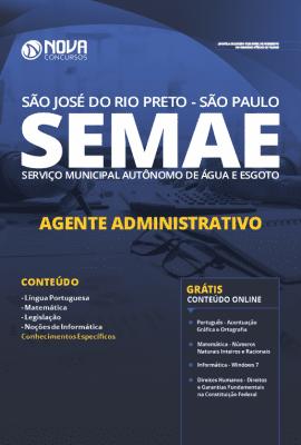 Apostila Concurso SEMAE São José do Rio Preto 2019 Grátis Cursos Online