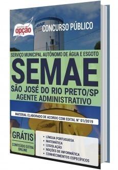Apostila Concurso SEMAE São José do Rio Preto 2019 PDF e Impressa