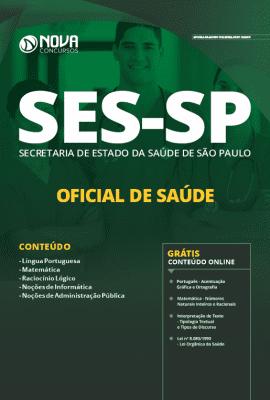 Apostila Concurso SES SP 2020 Oficial de Saúde Grátis Cursos Online