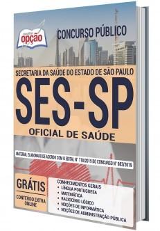 Apostila Concurso SES SP 2020 Oficial de Saúde PDF Download e Impressa