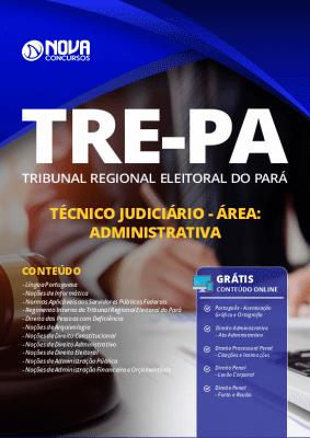 Apostila Concurso TRE PA 2019 Técnico Judiciário Área Administrativa Grátis Cursos Online