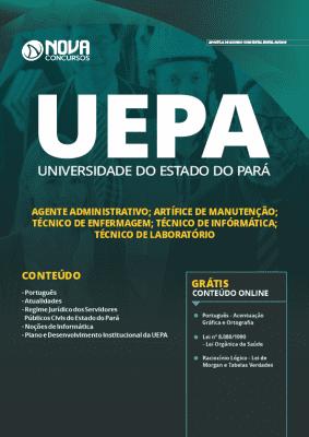 Apostila Concurso UEPA 2019 Cargos de Nível Médio Grátis Cursos Online