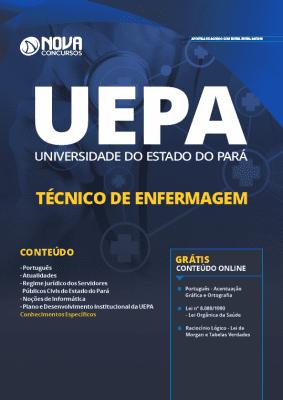 Apostila Concurso UEPA 2019 Técnico de Enfermagem Grátis Cursos Online