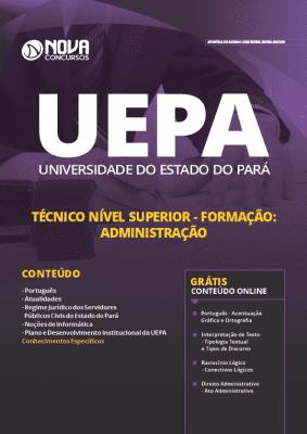 Apostila Concurso UEPA 2019 Técnico em Administração Grátis Cursos Online