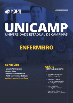 Apostila Concurso UNICAMP 2019 Enfermeiro Grátis Cursos Online
