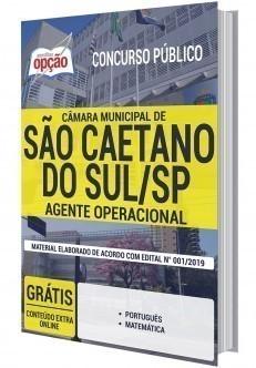 Apostila Cargo Agente Operacional PDF e Impressa