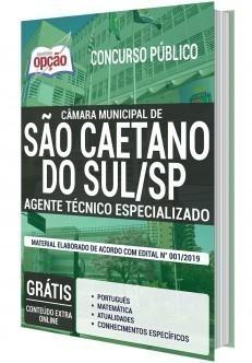Apostila Cargo Agente Técnico Especializado PDF e Impressa