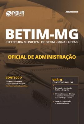 Apostila Prefeitura de Betim 2020 Grátis Cursos Online