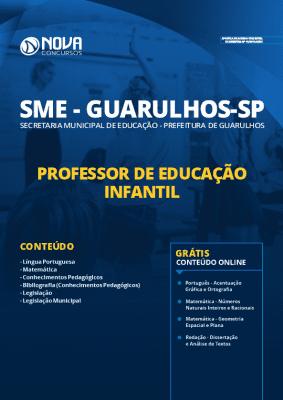 Apostila Prefeitura de Guarulhos 2020 Professor de Educação Infantil Grátis Cursos Online