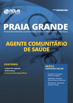 Apostila Prefeitura de Praia Grande 2020 Agente Comunitário Grátis Cursos Online