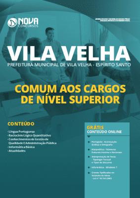 Apostila Prefeitura de Vila Velha 2020 Grátis Cursos Online