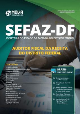 Apostila Concurso SEFAZ DF 2020 Auditor Fiscal da Receita Federal Grátis Cursos Online