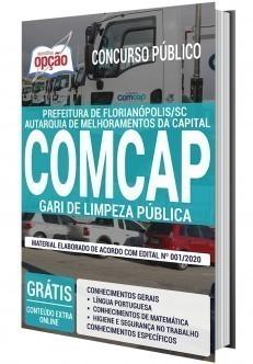 Apostila COMCAP 2020 PDF Download Gari de Limpeza Pública