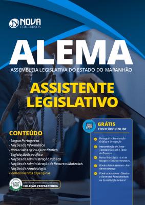 Apostila Concurso ALEMA 2020 PDF Agente Legislativo Grátis Cursos Online