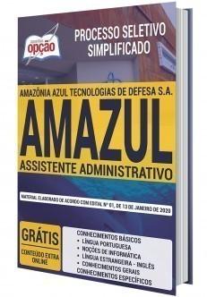 Apostila Concurso AMAZUL 2020 PDF Assistente Administrativo