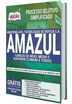 Apostila Concurso AMAZUL 2020 PDF Nível Médio e Superior
