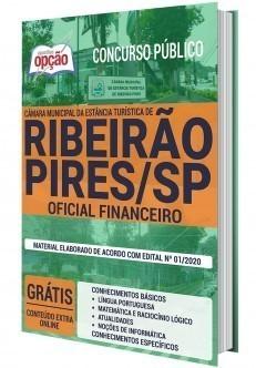 Apostila Câmara de Ribeirão Pires 2020 PDF Oficial Financeiro