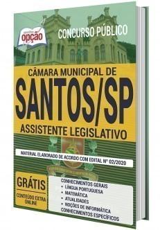 Apostila Câmara de Santos 2020 PDF Assistente Legislativo