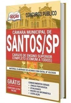 Apostila Concurso Câmara de Santos 2020 PDF Nível Superior