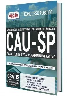Apostila Concurso CAU SP 2020 PDF Assistente Administrativo