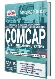 Apostila Concurso COMCAP 2020 PDF Assistente Administrativo
