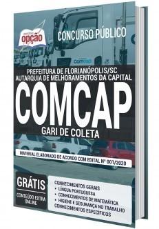 Apostila Concurso COMCAP 2020 PDF Download Gari de Coleta