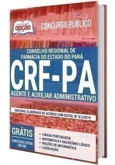 Apostila Concurso CRF PA 2020 PDF Agente Administrativo e Auxiliar Administrativo