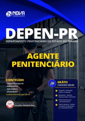 Apostila DEPEN PR 2020 PDF Agente Penitenciário Grátis Cursos Online