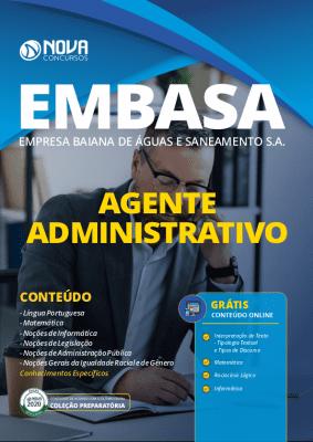 Apostila EMBASA 2020 Agente Administrativo PDF Grátis Cursos Online