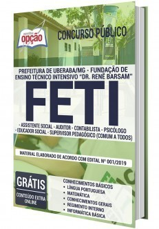 Apostila FETI 2020 PDF e Impressa Cargos de Nível Superior
