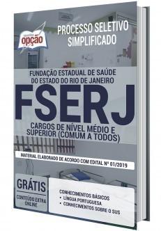 Apostila Concurso FSERJ 2020 PDF Nível Médio e Superior