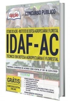 Apostila IDAF AC 2020 PDF Técnico em Defesa Agropecuária e Florestal