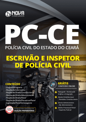 Apostila Concurso PC CE 2020 PDF Download Escrivão e Inspetor