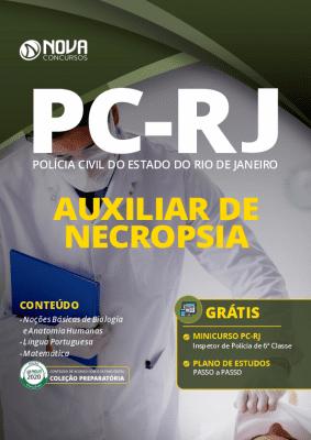Apostila Concurso Auxiliar de Necropsia Download PDF Grátis Curso Online