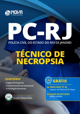 Apostila Concurso PC RJ 2020 PDF Técnico de Necropsia