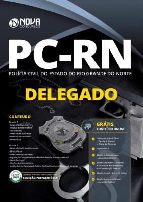 Apostila Concurso PC RN 2020 PDF Download Delegado Grátis Cursos Online