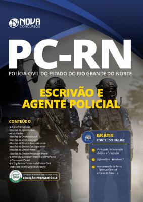 Apostila PC RN 2020 PDF Escrivão e Agente Policial Grátis Cursos Online
