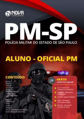 Apostila Concurso PM SP 2020 Oficial PM 2020 PDF Download e Impressa