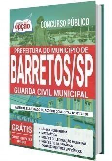 Apostila Prefeitura de Barretos 2020 PDF Guarda Municipal