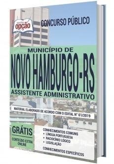 Apostila Prefeitura de Novo Hamburgo 2020 PDF e Impressa