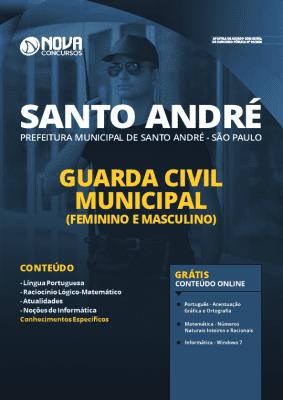 Apostila Prefeitura de Santo André 2020 PDF Guarda Municipal