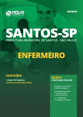 Apostila Prefeitura de Santos 2020 PDF Enfermeiro Grátis Cursos Online